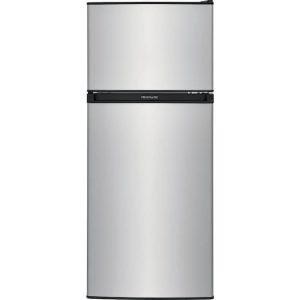 4.5CU FT Mini Fridge Freezer (Silver) FL3