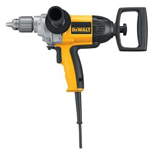 Dewalt 9-amp 1/2 -in keyed corded drill box slightly damaged S4B