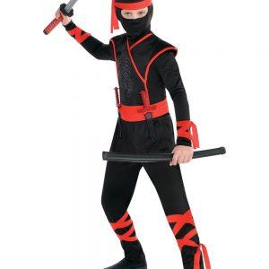 Shadow Ninja Fighter Boy Costume S3B