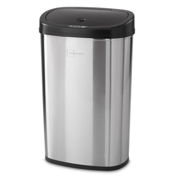 Motion Sensor Trash Can 13.2 GAL Stainless Steel S5C