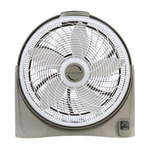 "20"" cyclone 3 speed floor fan S2A"