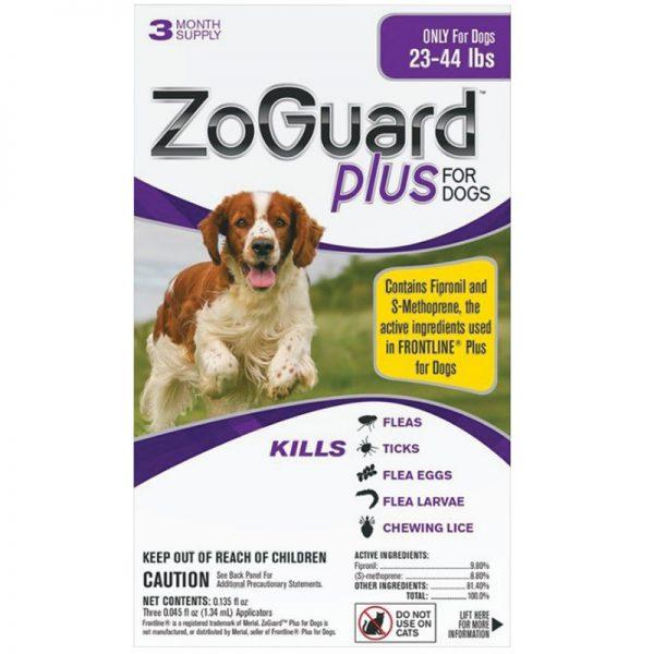 ZOGUARD PLUS DOG 23-44LB