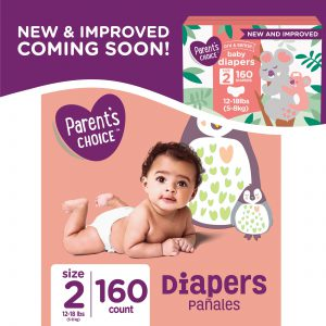 Diapers Size 2 (228CT) S1B