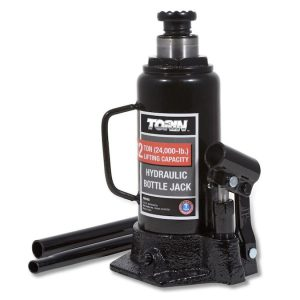 Torin black steel hydraulic bottle jack S4B