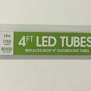 FEIT LED 4 FT TUBES 2 PK 16B03
