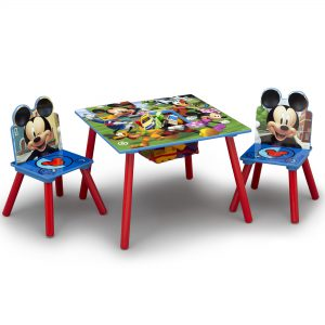 Mickey Mouse Kitds Table and Chair Set S4A