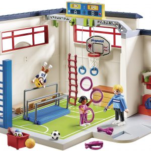Playmobil gym building set S4B