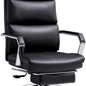 Ticova Executive Office Chair Reclining,Black S9A