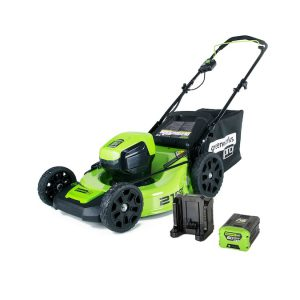 60-Volt Brushless Lithium Ion Electric Lawn Mower S8B