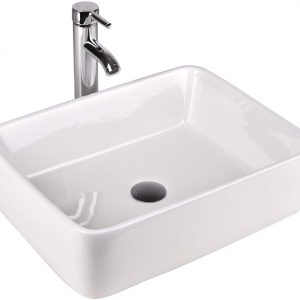 Rectangular Ceramic Vessel Sink FL2