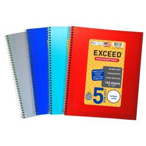 Spiral notebook 5 Subject S3B