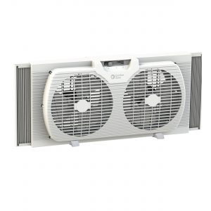 Twin window fan with 2 speeds 7in. S2B