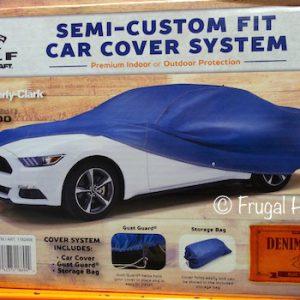 DENIM BLUE CAR COVER  12C02C
