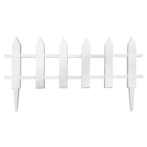 AllFenz vynilpicket garden fence 12Hx23W S6B
