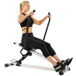 SF-RW5720 Full Motion Rower 350lb CAP S4A