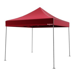 Stalwart 10X10 Instant Canopy (RED) S5A