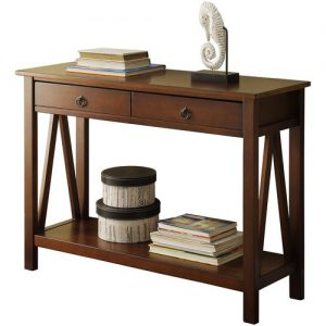 31inch Console Table (Tobacco Color) S1A