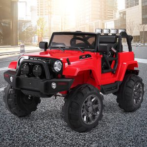 Jaxpety 12V Ride On Car Kids W/ MP3 Electric Battery Power RC Remote Control Red (NO WHEELS!!!) S7A