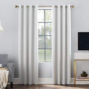 Sun Zero Oslo Theater Grade 100% Blackout Grommet Curtain Panel S1B