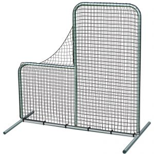 "Champro Pitcher's Safety L-Screen 7'x7' with 40"" Drop LOC: 5B01"