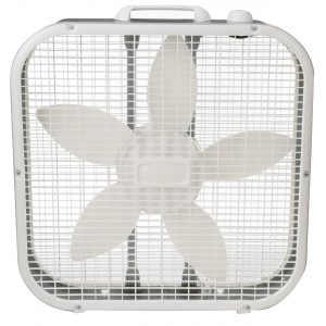 "Lasko ""20 3 Speed Box Fan LOC:S3B03 Lf"
