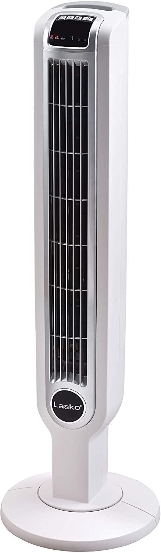 Lasko 2510 Oscillating Tower Fan, 36 Inch, White (USED) LOC: S3B03 MD