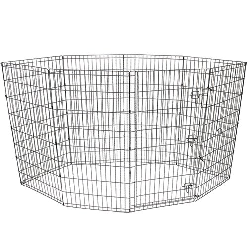 """Vibrant Life 48""""H Indoor & Outdoor Pet Exercise Play Pen S10B"""