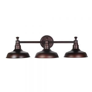 Industrial Farmhouse 3 Light ndoor Bathrrom Vanity Light LOC: S4B01 LF