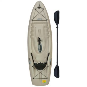 Lifetime Hydros Angler 8ft Sit-On Fishing Kayak (w/Paddle) 15C04