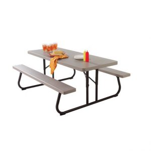 LifeTime Folding Picnic Table 6FT