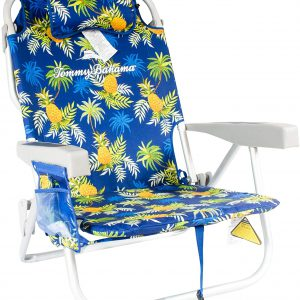 Tommy Bahama ALUMINUM BEACH CHAIR (pineapple design) (Return Item (Slightly Used )