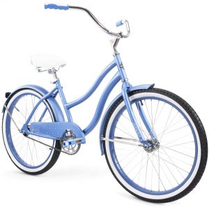 "Huffy 24"" Cranbrook Women's Comfort Cruiser Bike, Periwinkle Blue (OPEN BOX) S9B"