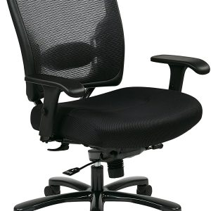 OFFICE STAR BIG AND TALL GRID MESH EXECUTIVE CHAIR LOC: S10B