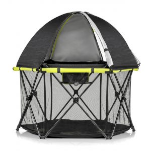 Evenflo Play-Away Portable Playard Deluxe (BLACK&YELLOW) LOC: 5A MD
