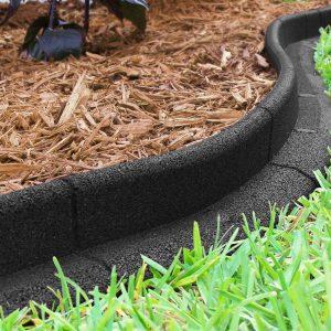 Ecoborder 24 Ft No Dig Landscape Edging Black (BOX DAMAGE) S9B