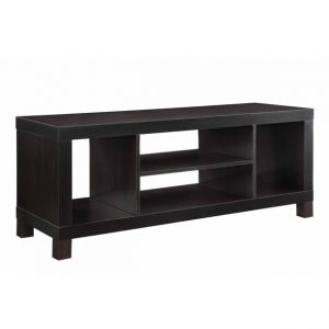 Mainstays TV Stand (19.09in H x 47.24in W x 15.75in D) ( COLOR: Espresso) LOC: S7B MD