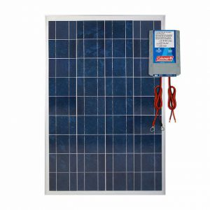 Coleman 100W Solar Panel With 8.5 AMP Charge Controller LOC:S5B