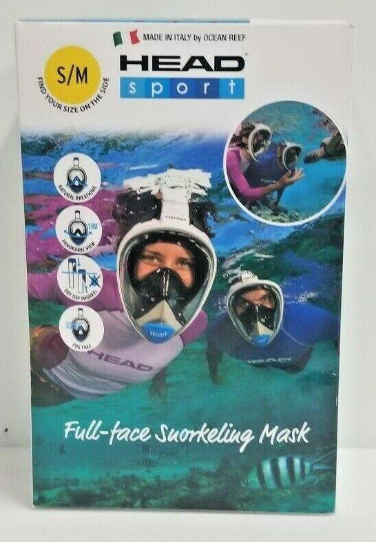 HEAD FULL FACE SNORKEL LOC: 11B04C